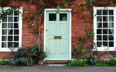 Why changing the colour of your front door, could help you sell more quickly!